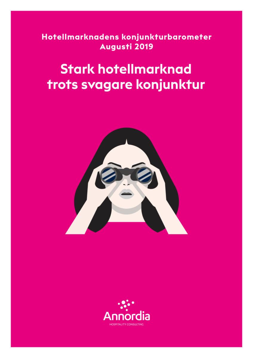 Hotellmarknadens konjunkturbarometer Augusti 2019