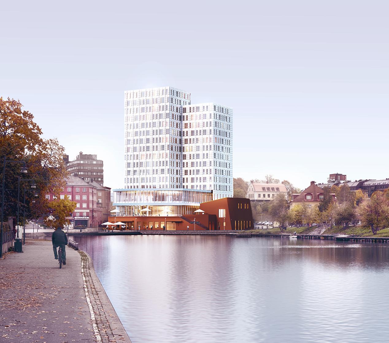 Stadsrum Fastigheter tecknar hyresavtal med Winn Hotel Group om ett nytt hotell i centrala Södertälje.