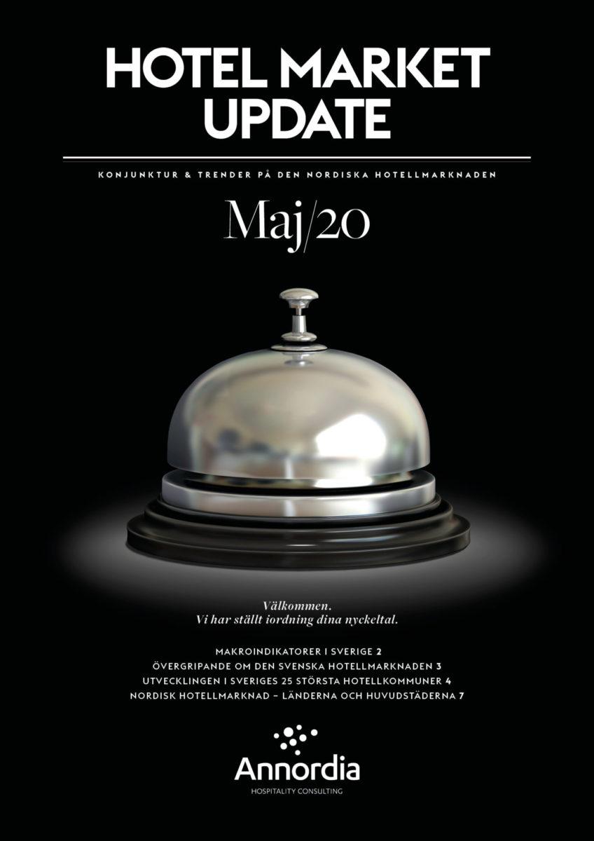 Hotel Market Update Annordia MAJ 2020