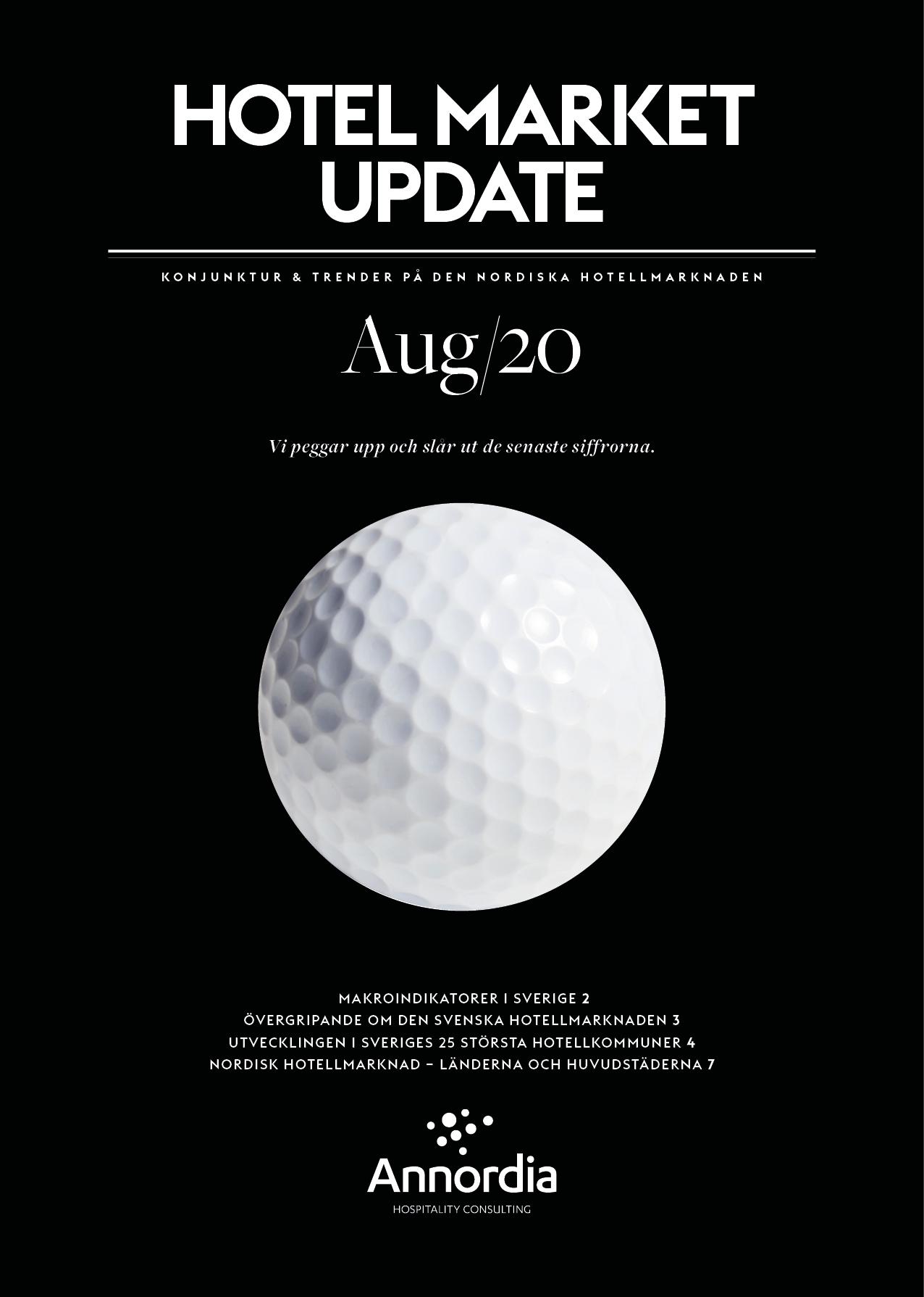Hotel Market Update Annordia AUGUSTI 2020 p1