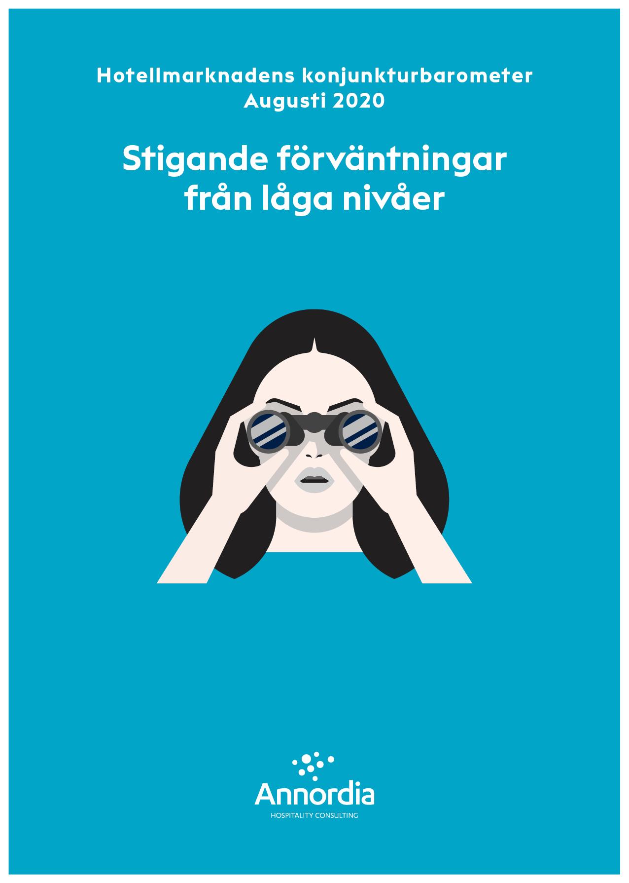 Hotellmarknadens konjunkturbarometer utan kanter_Augusti 2020 p1