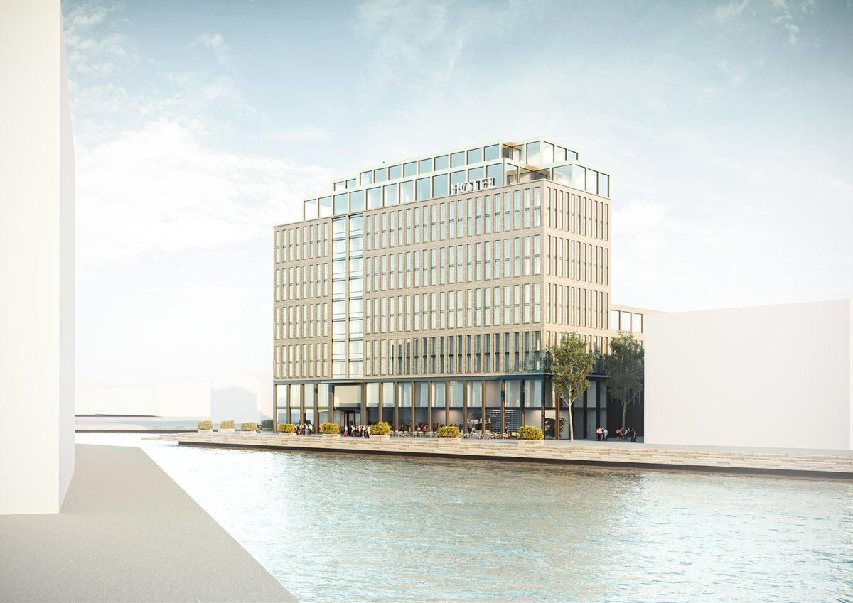 Nytt hotell i Kalmar av LW Fastigheter och Nordic Choice Hotels