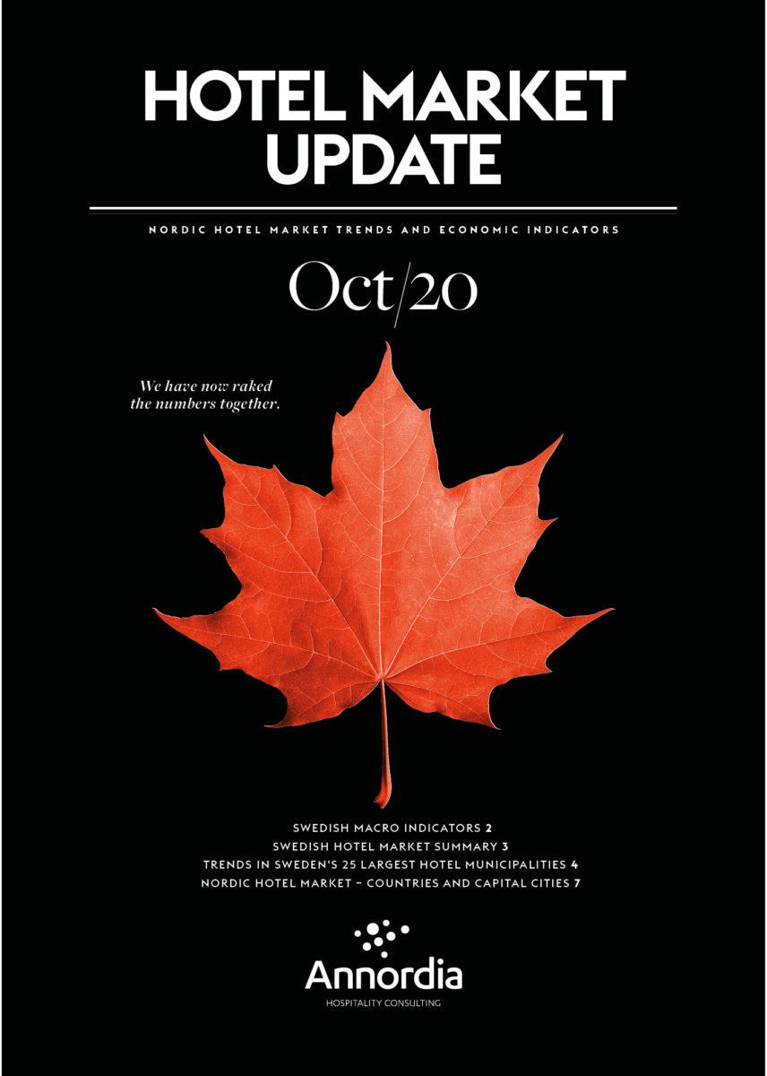 Hotel Market Update Annordia OCTOBER 2020 p1