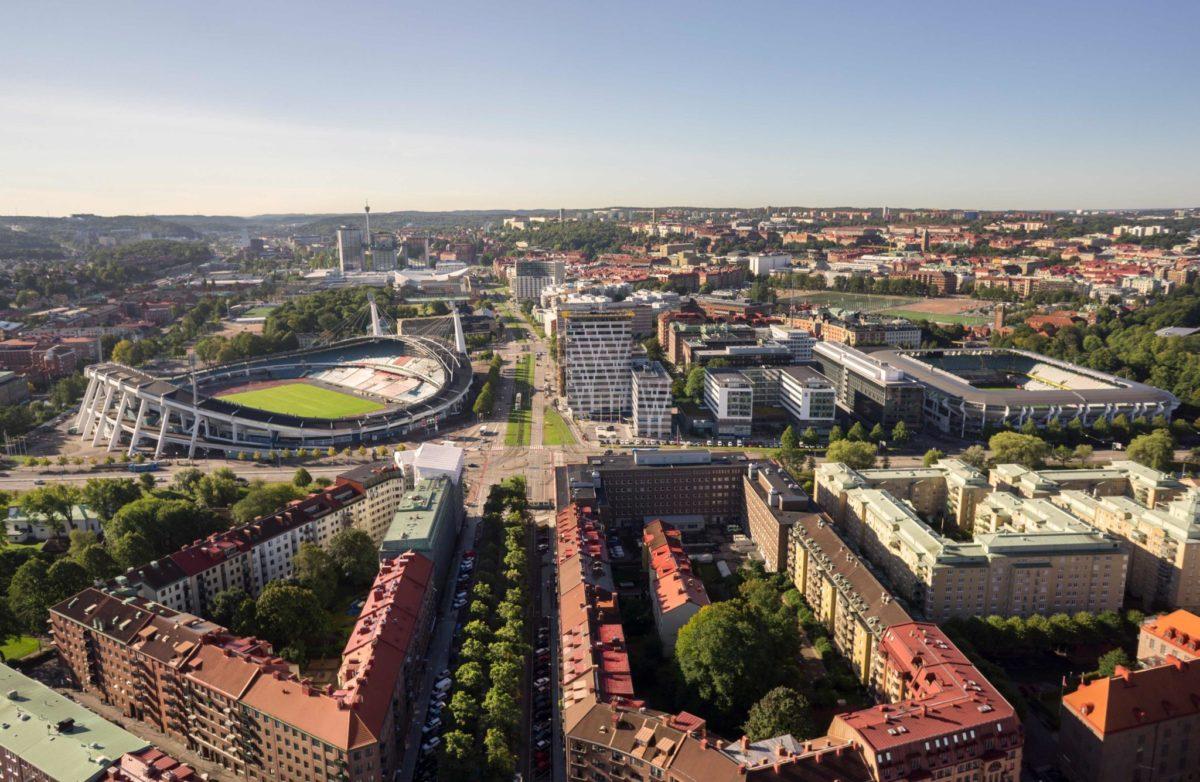 Evenemangsstråket i Göteborg