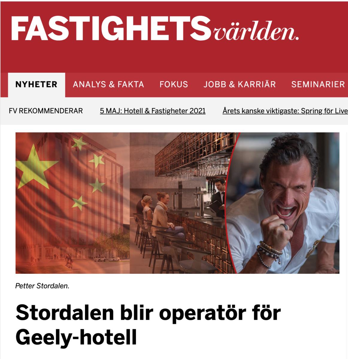 Nordic Choice Hotels hotelloperatör när Uni3 by Geely bygger hotell på Lindholmen