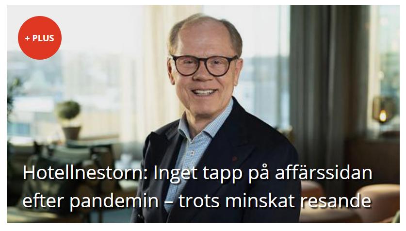 Intervju med Hans Åke Petersson i Fastighetssverige