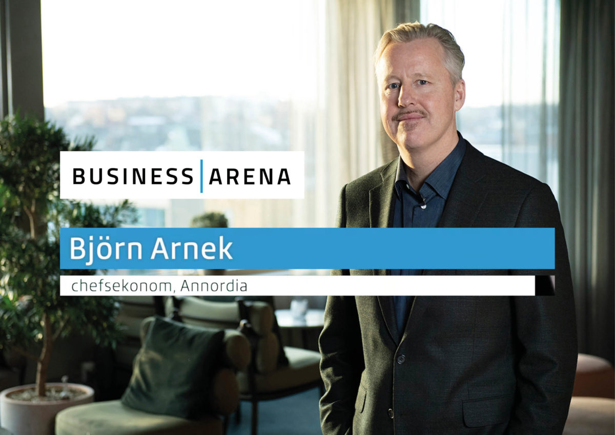 Björn Arnek, Annordia, Business Arena 2021
